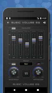 Androidアプリ「音楽イコライザー低音ブースターとボリュームブースター🎧」のスクリーンショット 2枚目