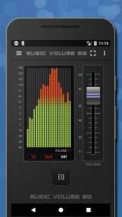 Androidアプリ「音楽イコライザー低音ブースターとボリュームブースター🎧」のスクリーンショット 1枚目