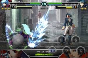 Androidアプリ「THE KING OF FIGHTERS-A 2012」のスクリーンショット 5枚目