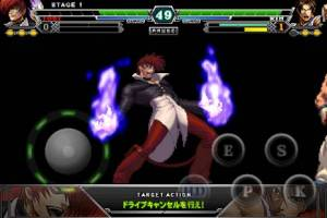 Androidアプリ「THE KING OF FIGHTERS-A 2012」のスクリーンショット 4枚目