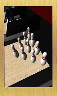 Androidアプリ「3D ボウリング」のスクリーンショット 4枚目