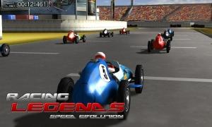 Androidアプリ「Racing Legends」のスクリーンショット 2枚目