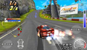 Androidアプリ「Raging Thunder 2」のスクリーンショット 1枚目