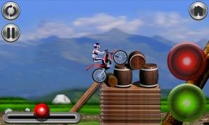 Androidアプリ「バイクマニア - レーシングゲーム」のスクリーンショット 1枚目