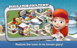 Androidアプリ「Car Town Streets」のスクリーンショット 1枚目