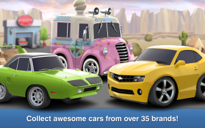 Androidアプリ「Car Town Streets」のスクリーンショット 2枚目