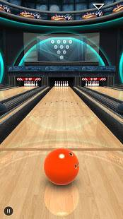 Androidアプリ「Bowling Game 3D」のスクリーンショット 1枚目