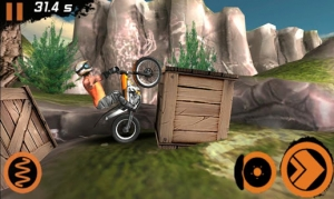 Androidアプリ「Trial Xtreme 2 Racing Sport 3D」のスクリーンショット 3枚目