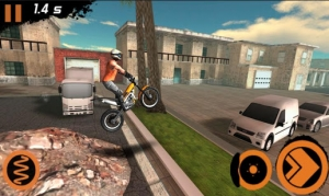 Androidアプリ「Trial Xtreme 2 Racing Sport 3D」のスクリーンショット 1枚目
