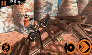 Androidアプリ「Trial Xtreme 2 Racing Sport 3D」のスクリーンショット 5枚目