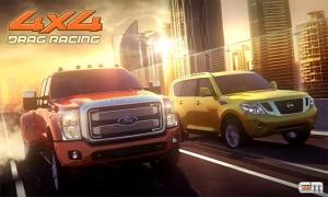 Androidアプリ「Drag Racing 4x4」のスクリーンショット 1枚目