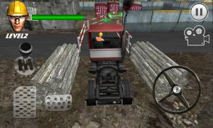 Androidアプリ「クレイジー駐車トラックキング3D」のスクリーンショット 3枚目