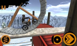 Androidアプリ「Trial Xtreme 2 Winter」のスクリーンショット 1枚目