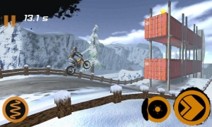 Androidアプリ「Trial Xtreme 2 Winter」のスクリーンショット 2枚目