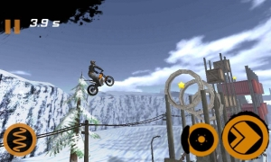 Androidアプリ「Trial Xtreme 2 Winter」のスクリーンショット 4枚目