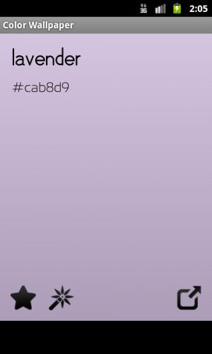 Androidアプリ「色の壁紙」のスクリーンショット 3枚目