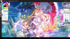 Androidアプリ「LayerPaint HD」のスクリーンショット 3枚目
