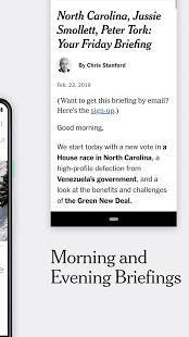 Androidアプリ「NYTimes - Latest News」のスクリーンショット 2枚目