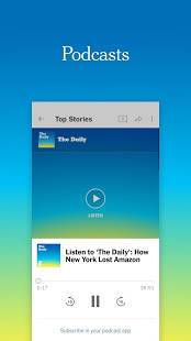 Androidアプリ「NYTimes - Latest News」のスクリーンショット 3枚目