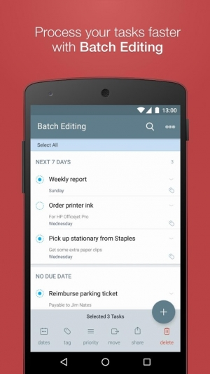 Androidアプリ「2Do - Reminders & To-do List」のスクリーンショット 4枚目