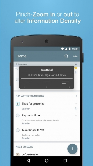 Androidアプリ「2Do - Reminders & To-do List」のスクリーンショット 3枚目