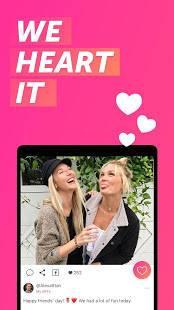 Androidアプリ「We Heart It」のスクリーンショット 1枚目