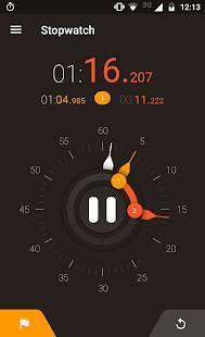 Androidアプリ「ストップウォッチタイマー」のスクリーンショット 5枚目