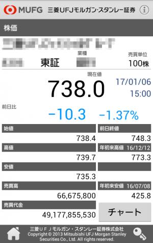 Androidアプリ「sc.mufg」のスクリーンショット 2枚目