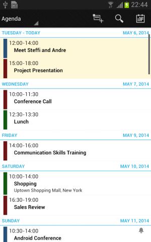 Androidアプリ「Business Calendar (カレンダー)」のスクリーンショット 4枚目