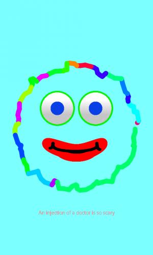 Androidアプリ「さわっておしゃべり!お絵かきフリー (幼児用)」のスクリーンショット 3枚目