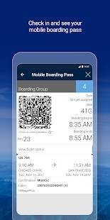 Androidアプリ「United Airlines」のスクリーンショット 3枚目