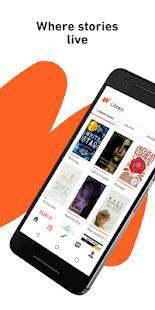 Androidアプリ「Wattpad-物語はどこに住んでいます」のスクリーンショット 1枚目
