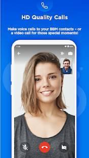 Androidアプリ「BBM - 通話とメッセージを無料で」のスクリーンショット 2枚目
