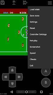 Androidアプリ「John NES Lite - NESエミュレータ」のスクリーンショット 1枚目