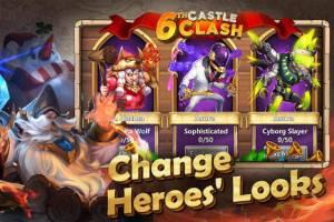 Androidアプリ「Castle Clash: Brave Squads」のスクリーンショット 4枚目
