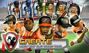 Androidアプリ「Big Win Baseball (野球)」のスクリーンショット 1枚目