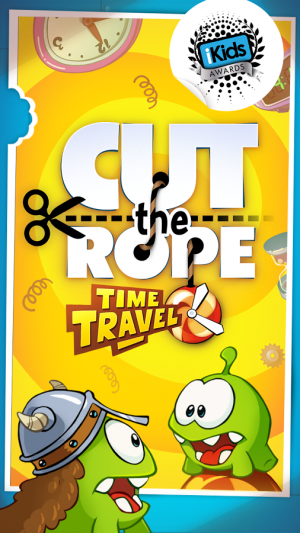 Androidアプリ「Cut the Rope: Time Travel」のスクリーンショット 1枚目