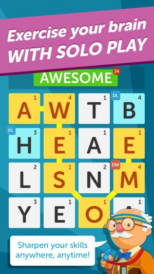 Androidアプリ「Word Streak-Words With Friends」のスクリーンショット 5枚目