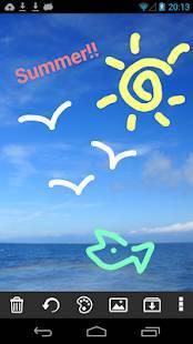 Androidアプリ「Let's Draw お絵かき お絵描き 落書き無料アプリ」のスクリーンショット 2枚目