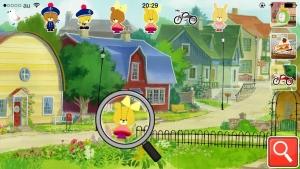 Androidアプリ「子供向け無料知育アプリ「がんばれ!ルルロロの虫めがね探検」」のスクリーンショット 4枚目