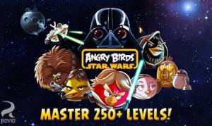 Androidアプリ「Angry Birds Star Wars HD」のスクリーンショット 1枚目