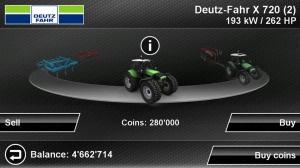 Androidアプリ「Farming Simulator」のスクリーンショット 2枚目