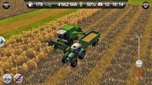 Androidアプリ「Farming Simulator」のスクリーンショット 1枚目