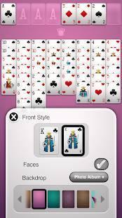 Androidアプリ「フリーセル+」のスクリーンショット 4枚目