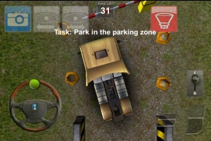 Androidアプリ「Parking Truck Deluxe」のスクリーンショット 4枚目