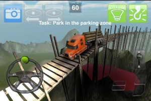 Androidアプリ「Parking Truck Deluxe」のスクリーンショット 1枚目