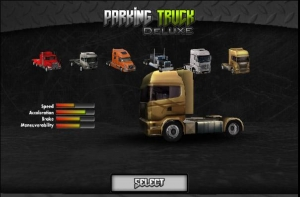 Androidアプリ「Parking Truck Deluxe」のスクリーンショット 2枚目