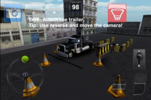 Androidアプリ「Parking Truck Deluxe」のスクリーンショット 5枚目