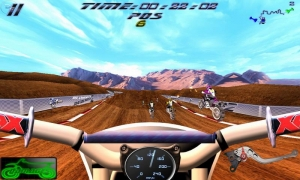 Androidアプリ「Ultimate MotoCross 2 Free」のスクリーンショット 4枚目
