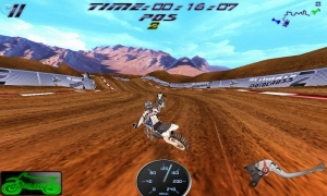Androidアプリ「Ultimate MotoCross 2 Free」のスクリーンショット 2枚目
